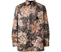 Hemdjacke mit Muster