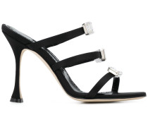Nudosa 105mm strappy sandals