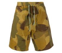Shorts mit Camouflage-Print