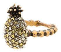 Ananas-Ring mit Kristallen