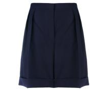 Woll-Shorts mit weitem Bein