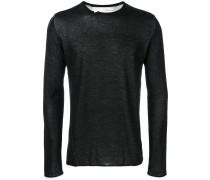 slim-fit sweater