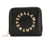 'Stella' Portemonnaie mit Logo-Prägung