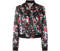 all-over printed bomber jacket