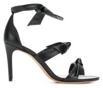 bow tie high heel sandals