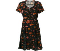 Kleid mit Weltraum-Print