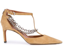 'Chandi' Pumps mit T-Riemen