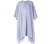 Gestreiftes Popeline-Kleid