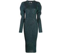 Kleid in Metallic-Optik