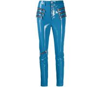 Skinny-Hose mit Reißverschluss