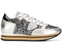 'Tropez' Sneakers mit Glitzerapplikation