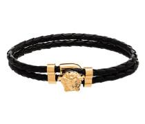 Geflochtenes Armband mit Medusa
