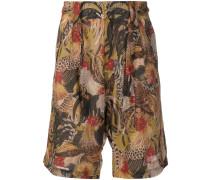 'Kwami' Shorts mit Bindegürtel