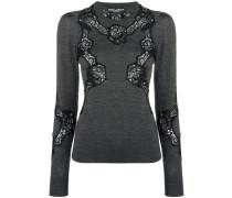 lace detail jumper