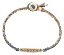 18kt Goldarmband mit blauen Saphiren