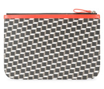 Große 'Perspective Cube' Clutch