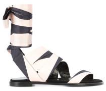 Sandalen mit Wickelband