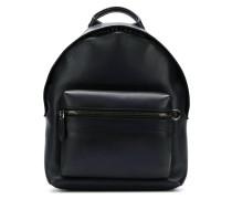 worn-effect backpack