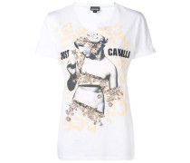 logo graphic print T-shirt