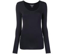 Pullover mit U-förmigem-Ausschnitt