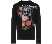 "Sweatshirt mit ""Skull and Rose""-Print"