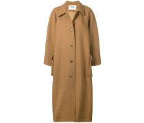 Mantel mit geschlitzten Ärmeln