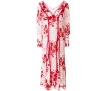 Langärmeliges 'Georgette' Kleid