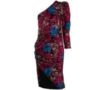 embellished one-shoulder dress