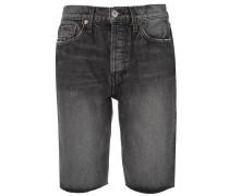 Jeansshorts mit Stone-Wash-Effekt