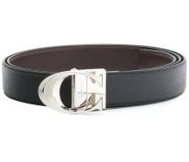 C buckle reversible belt