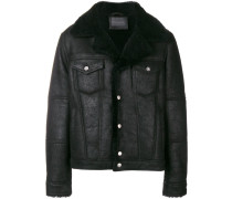 Mantel aus Lammleder