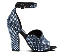 Sandalen mit verziertem Absatz