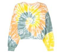 Sweatshirt in Batikoptik