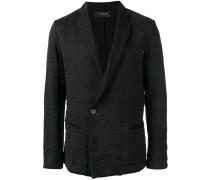 wrinkled effect blazer