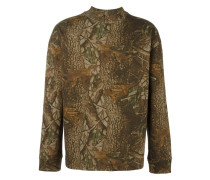 'Season 3' Sweatshirt mit Wald-Print