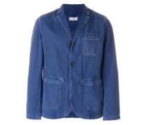 Jeanssakko mit aufgesetzten Taschen
