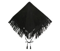 fringed capelet