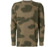 Oversized-Sweatshirt mit Camouflage-Print