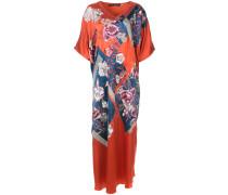 patch-work caftan dress