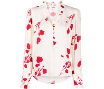 'Paiton' Hemd mit Blumen-Print