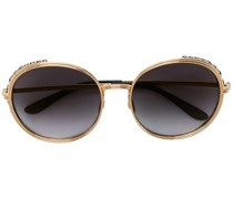 oversized round shape sunglasses