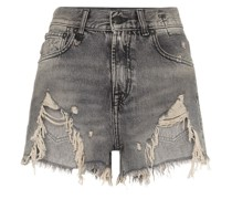 Jeans-Shorts im Destroyed-Look