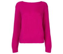 long-sleeve ribbed sweater