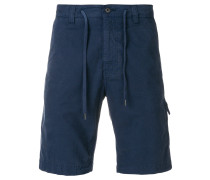 Chino-Shorts mit Kordelzug