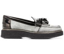 fringe tassel loafers