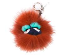 'Blueminous' Schlüsselanhänger aus Pelz