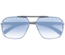 Pilotenbrille mit Nieten