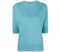 Pullover mit tiefem V-Ausschnitt