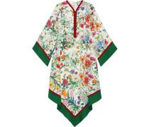 Kimono-Kleid mit Print
