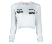 'Flirting' Cropped-Pullover